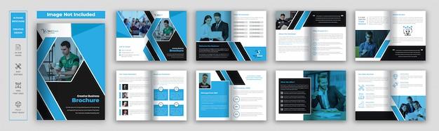 Firmenprofil broschürenvorlage