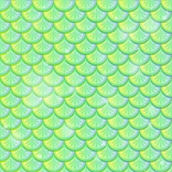 Fischschuppe nahtlose hintergrundmuster