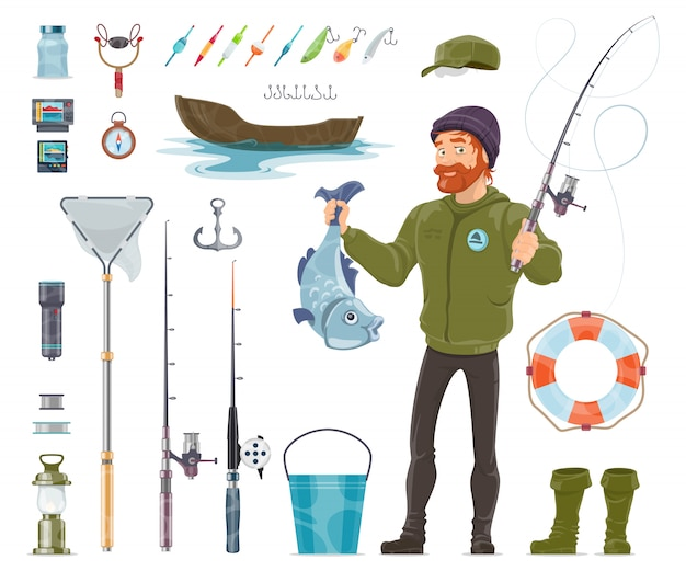 Fisherman elements set