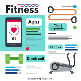 Fitness apps pack