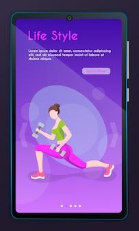 Fitness im cardio-sport der stadt