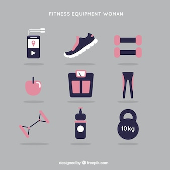 Fitness-kit frau
