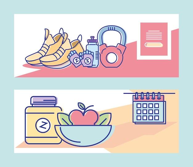 Fitness-sporternährung