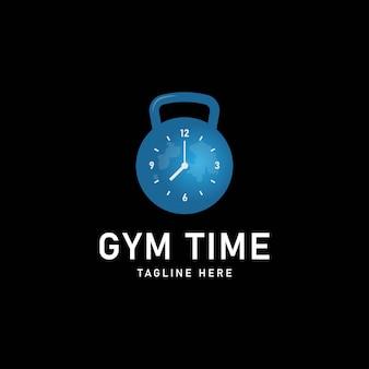 Fitness- und fitness-logo-vorlage-design-vektor