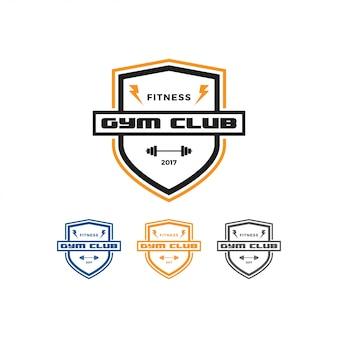 Fitness und fitness-studio-logo-design-vorlage