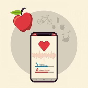 Fitness und gesunder lebensstil