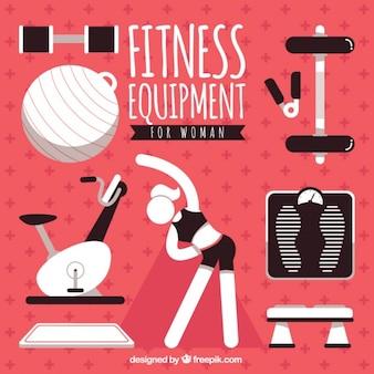 Fitnessgeräte für frau