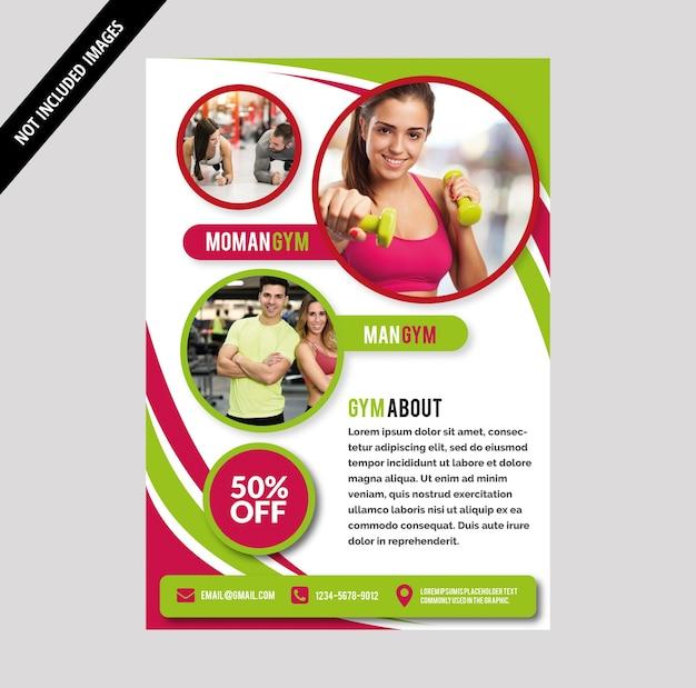 Fitnessraum broschüre
