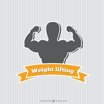 Fitnessraum vektor-logo