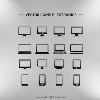 Flach elektronik eingestellt kostenlosen download