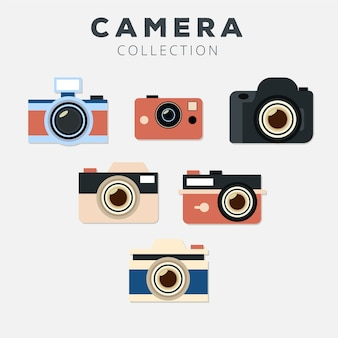 Flachbildkamera-sammlung