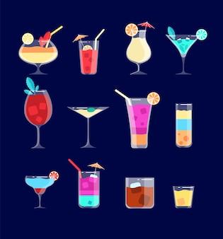 Flache cocktails