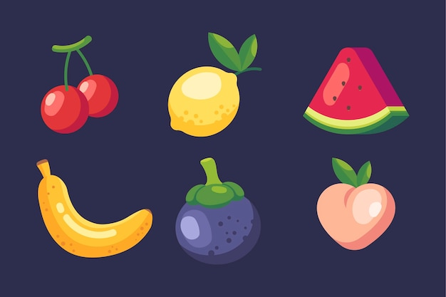 Flache fruchtsammlung