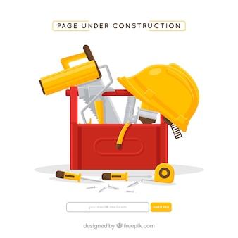 Flache im Bau Vorlage
