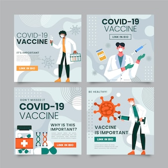 Flache impfung instagram beiträge