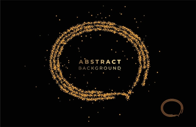 Flache lineare förderung geometrische formen abstraktes banner, schriftrolle, aufkleber, abzeichen, preisschild, poster.