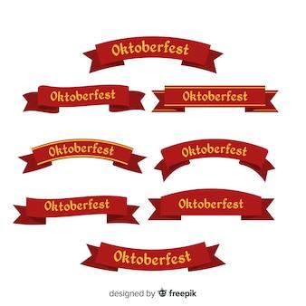 Flache oktoberfest-band-auflistung