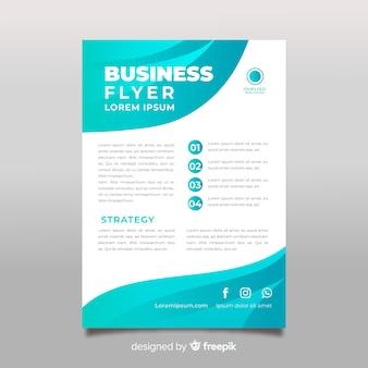 Flacher business-flyer