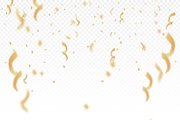 Flacher design-konfetti-hintergrund