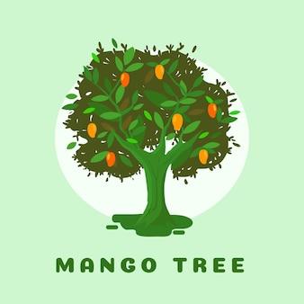 Flacher design-mangobaum