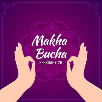 Flacher makha bucha tag