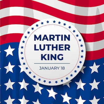 Flacher martin luther king tag
