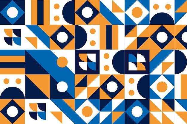 Flacher mosaikhintergrund