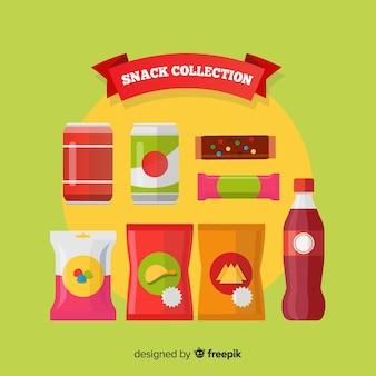 Flacher snack-pack