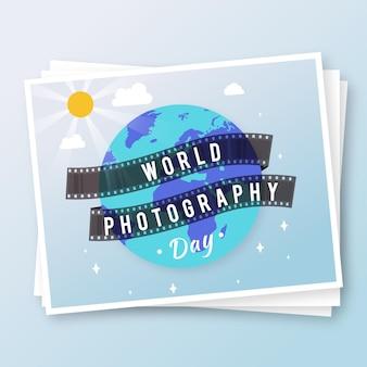 Flacher weltfotografietag