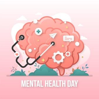 Flacher welttag der psychischen gesundheit