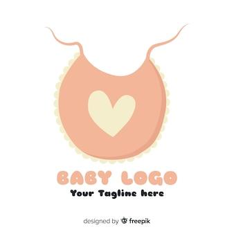 Flaches baby-logo