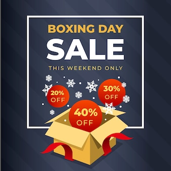 Flaches design boxing day sale mit rabatt