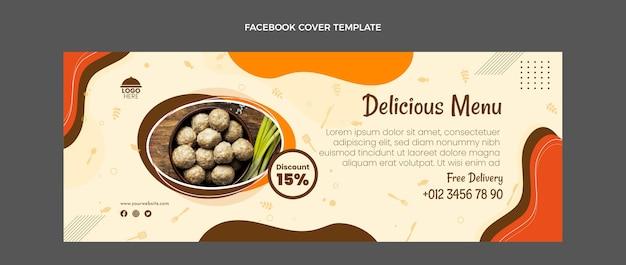 Flaches design essen facebook-cover