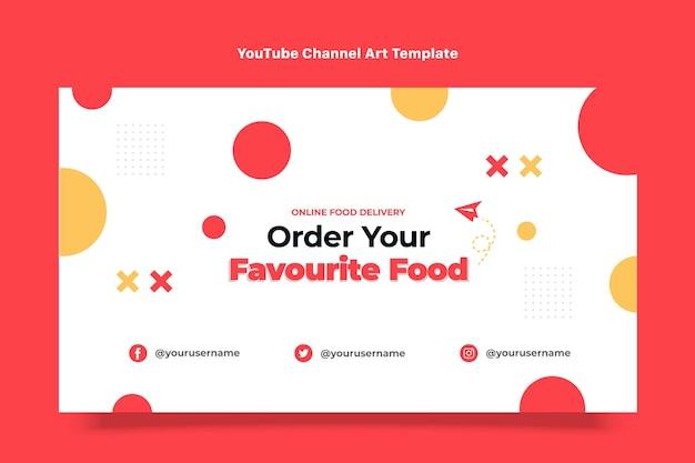 Flaches design essen youtube-kanal-kunst