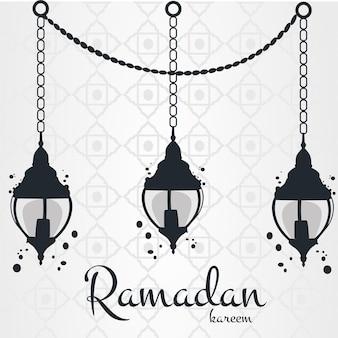 Flaches design-ramadan-ereigniskonzept