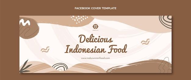 Flaches essen facebook-cover-vorlage