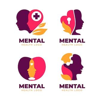 Flaches logo für psychische gesundheit