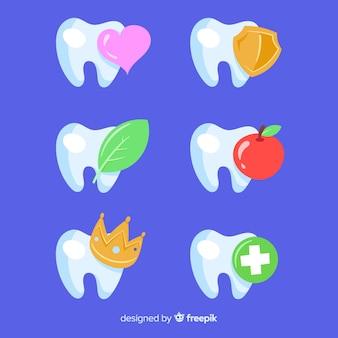 Flaches zahnklinik-logo
