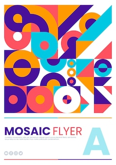 Flachmosaik-flyer