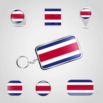 Flag-schlüsselanhänger
