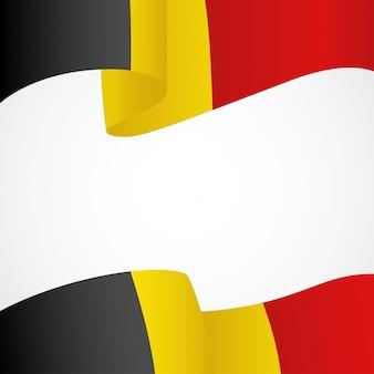 Flagge der belgischen insignien