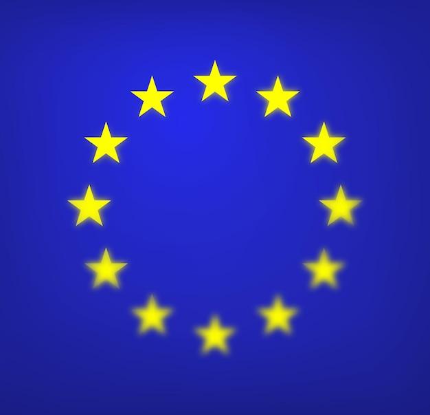 Flagge der europäischen union eu