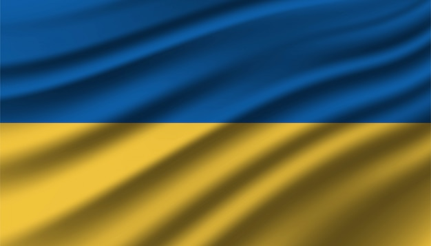 Flagge der ukraine hintergrundschablone.