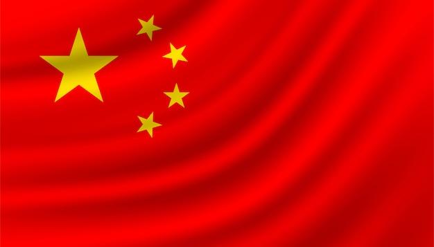 Flagge von china hintergrundschablone.
