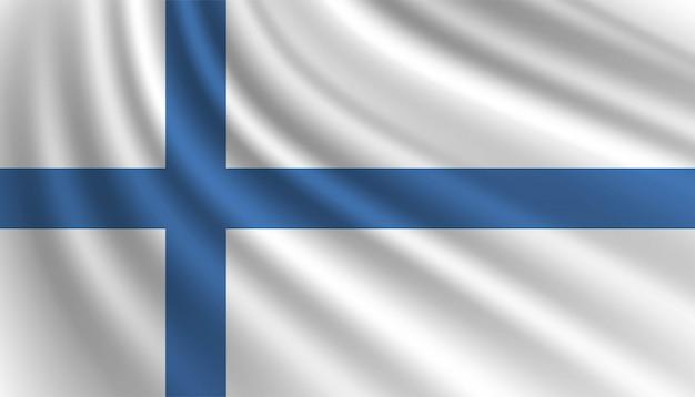 Flagge von finnland hintergrundschablone.