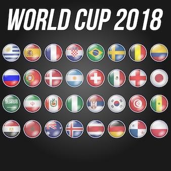 Flagge wm 2018