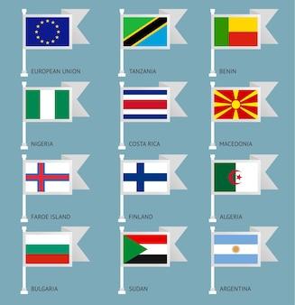 Flaggen der welt