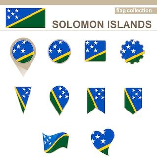 Flaggenkollektion der salomonen, 12 versionen