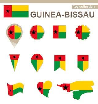 Flaggenkollektion guinea-bissaus, 12 versionen