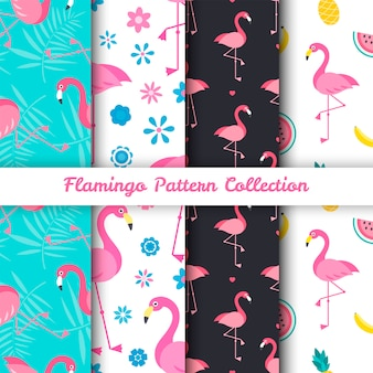 Flamingo-vogel-muster